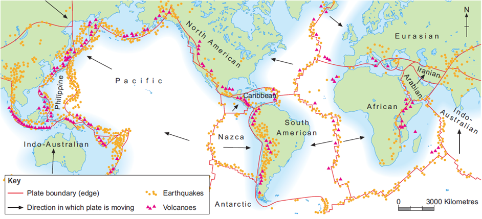 Plate boundaries volcanoes and earthquakes thinglink gumiabroncs