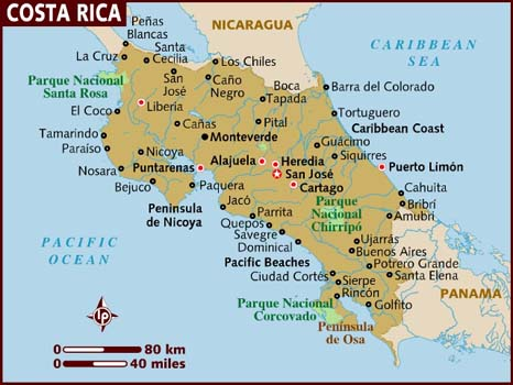 Worldlywise wiki section e costa rica case study a series of volcanic mountain chains run from the nicaraguan border in the north west to the panamanian border in the south east splitting the country in gumiabroncs Image collections
